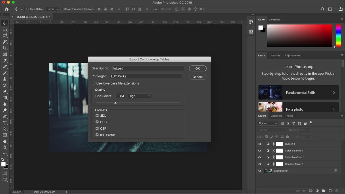 Lut photoshop tutorial